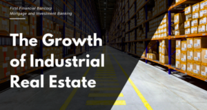 THE GROWTH OF INDUSTRIAL REAL ESTATE